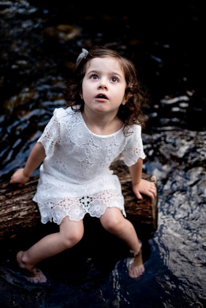 photographe enfant rivière