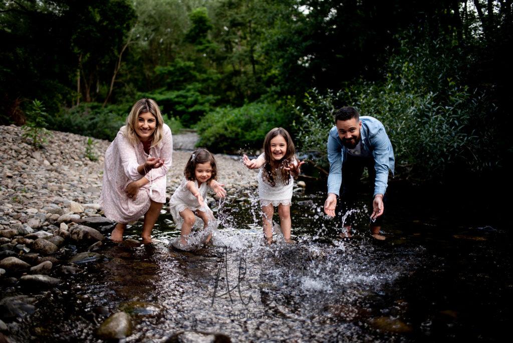 séance photo famille rivière Alsace